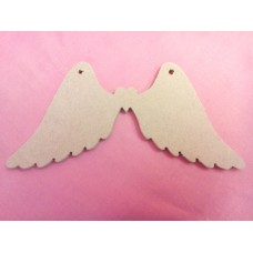 4mm MDF Angel wings 200mm